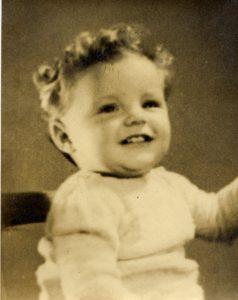 My first birthday September 1944