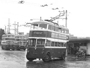1945 Portsmouth tram