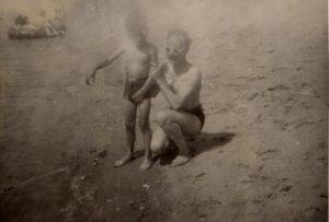 1947 on the beach