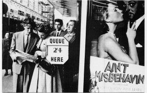 1950's Cinema goers
