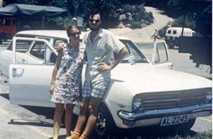 1972 Holden estate car in Hong Kong